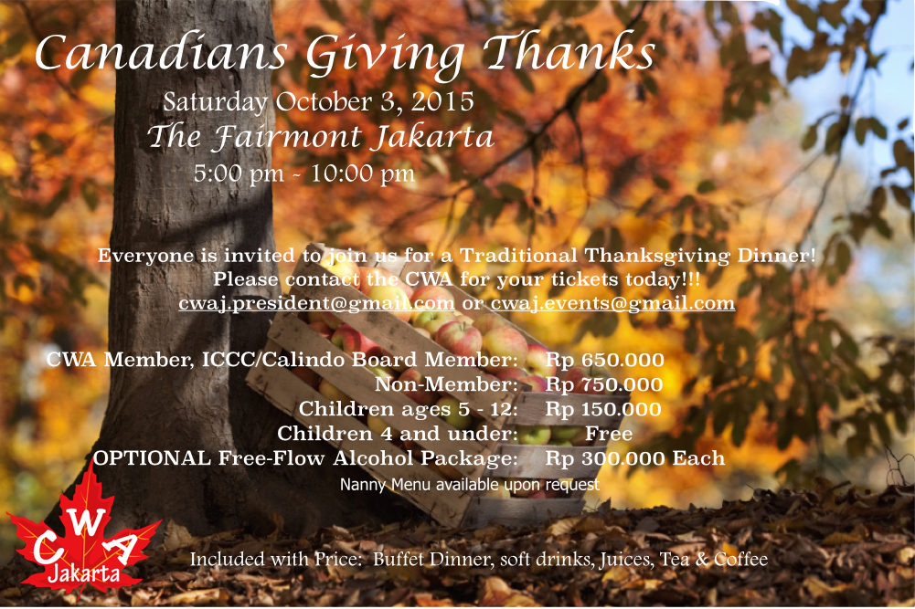 giving thank